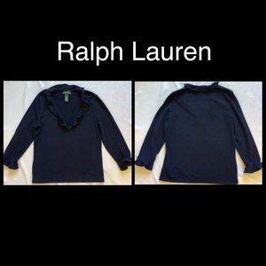 Ralph Lauren Navy Blue Medium Top